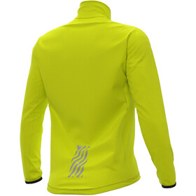 Alé Cycling Klimatik Guscio Racing Chaqueta Impremeable Hombre, fluo yellow
